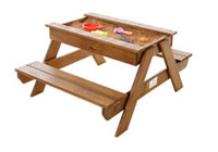 Just for Kids - Folding Bench Sandpit