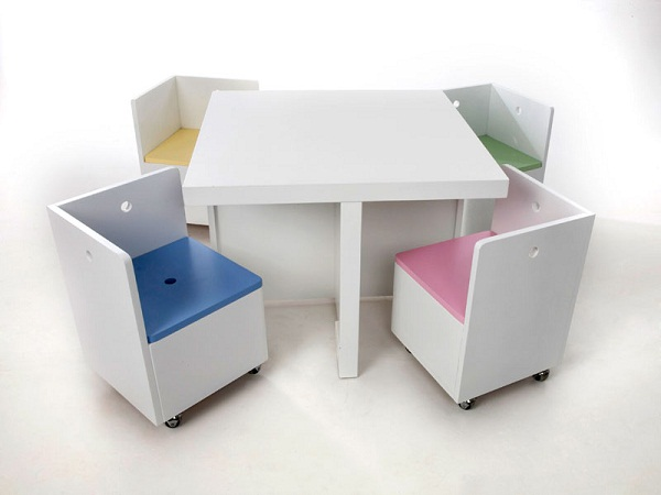 Geloto Cube Table And Chair Set Just For Kids
