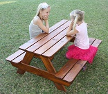 Just for Kids - Kids Garden Picnic Table
