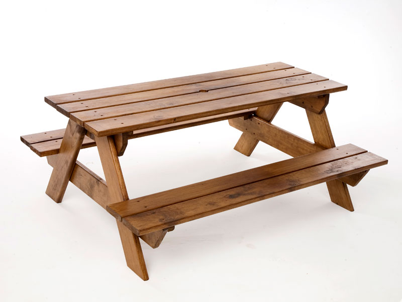 ... Just For Kids   Kids Wooden Picnic Table ...