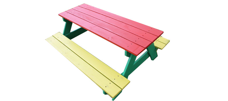 Just for Kids - Kids Wooden Picnic Table
