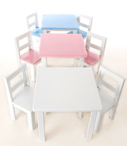 Just for Kids - Kids Table & Chair Set